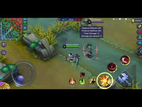 Mobile legends :Double hop ruby practice watch to learn