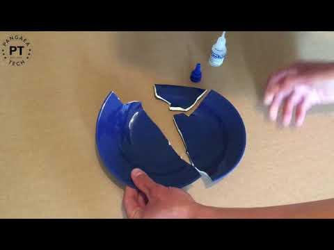 Porzellan kleben - Geschirr schnell & einfach reparieren mit dem Pangaea Tech Hochleistungskleber