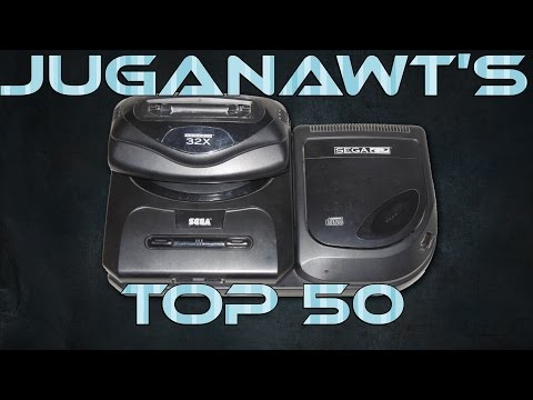 Top 50 Sega Mega CD & 32X Games of All Time! (HD)