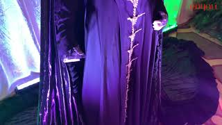 Actual #Maleficent Costume Worn By Angelina Jolie &