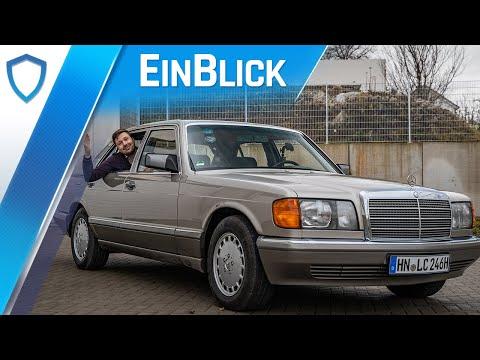 Mercedes-Benz W126 500 SE (1989) - DIE S-Klasse? Saccos großer Wurf im Test!