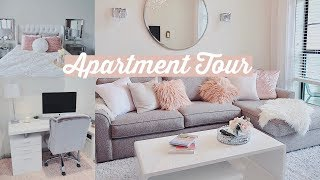 Furnished Apartment Tour | SIMPLE + GLAM