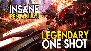 "PARAGON GRUX LEGENDARY ONE SHOT! ""INSANE 1V5 PENTAKILL?!"" GRUX OVERPOWERED BUILD"