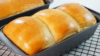 How To Make A Super Soft Milk Bread Loaf | Easy To Make
