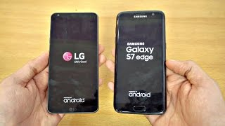 LG G6 vs Samsung Galaxy S7 Edge - Speed Test! (4K)