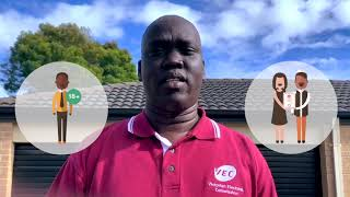 How to enrol to vote in local council elections (Dinka)