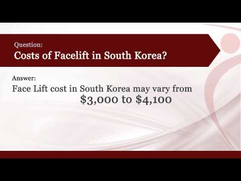Face lift in South Korea l Cost of Face lift in South Korea