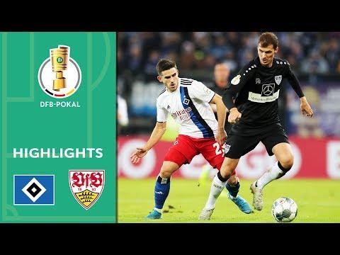 Hamburger SV vs. VfB Stuttgart 1-2 | Highlights | DFB Cup 2019/20 | 2nd Round