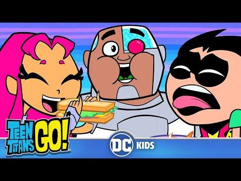 Teen Titans Go! | Eating Healthy | DC Kids