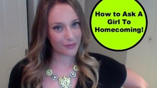 Ask Shallon: How To Ask A Girl To A School Dance | Prom & Homecoming Advice