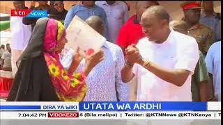 Waziri wa Ardhi Jacob Kaimenyi anatoa ombi kwa mahakama: Dira ya Wiki
