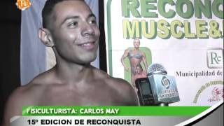 preview picture of video '1036 CARLOS MAY   15º Edición de Reconquista muscle & fitness'