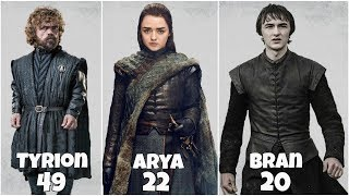 Game Of Thrones From Oldest To Youngest