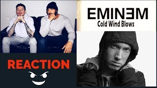 Eminem - Cold Wind Blows REACTION