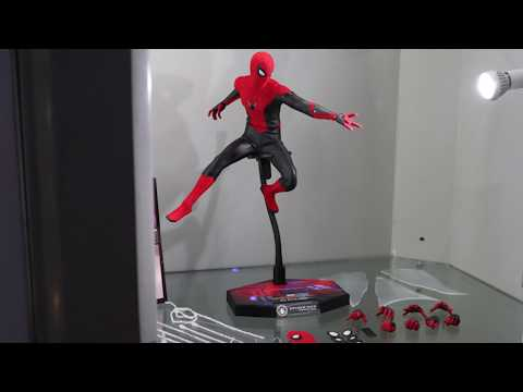 [First Look] Hot Toys- Spider-Man: Far From Home - 1/6th Spider-Man (Upgraded Suit)