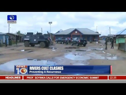Rival Cult Clash Kills At least 6 In Rivers State 18/02/16