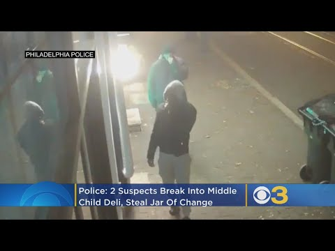 Police: 2 Suspects Break Into Middle Child Deli, Steal Jar Of Change In Center City