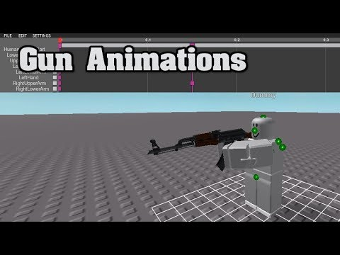 Roblox | How To Animate A Gun (READ DESCRIPTION) - Inferno