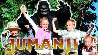 Jumanji 2 Kids In Real Life| Kids Fun TV Fun Squad!