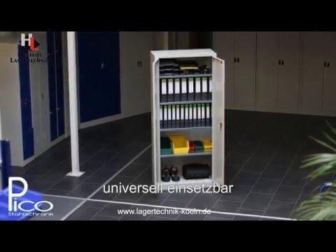 Stahlschrank Pico von Hustedt Lagertechnik Koeln