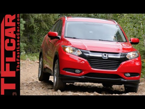 2016 Honda HR-V Takes On The Gold Mine Hill Off-Road Review