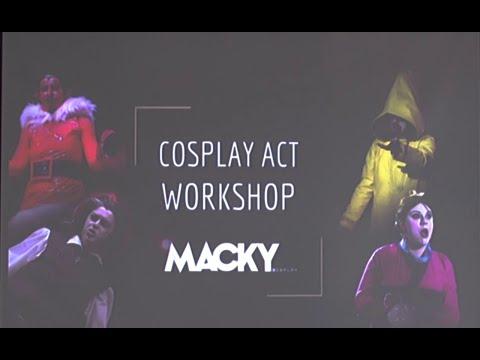 Cosplay Act Workshop