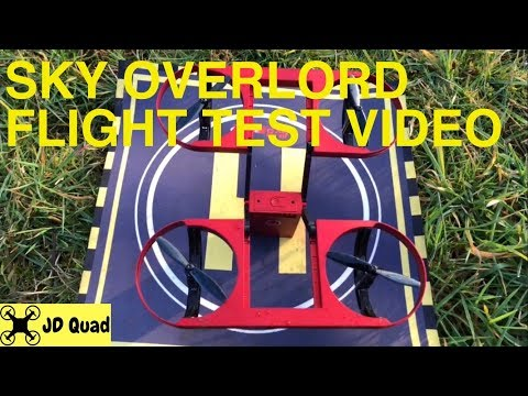 TYRC Sky Overlord Flight Test Video - Courtesy of Banggood