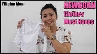 Kailangang Bilhin Na Newborn Clothes L Filipina Mom