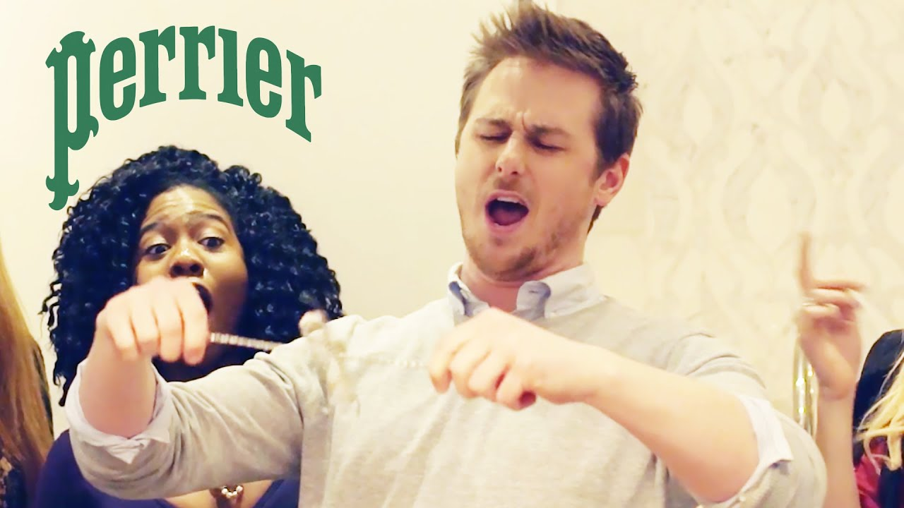 When You Show Up To A Party Solo // Presented By BuzzFeed and Perrier thumbnail