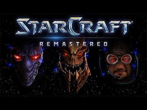[18+] Шон играет в StarCraft Remastered СТРИМ 6 (PC, 2017)