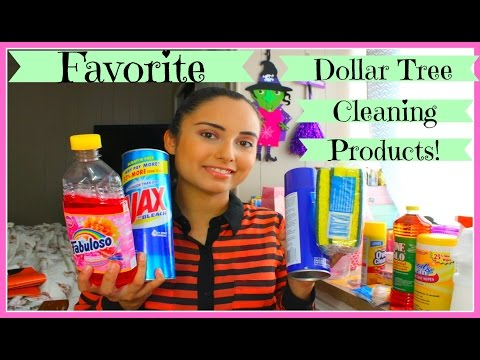 Favorite Dollar Tree Cleaning Products!