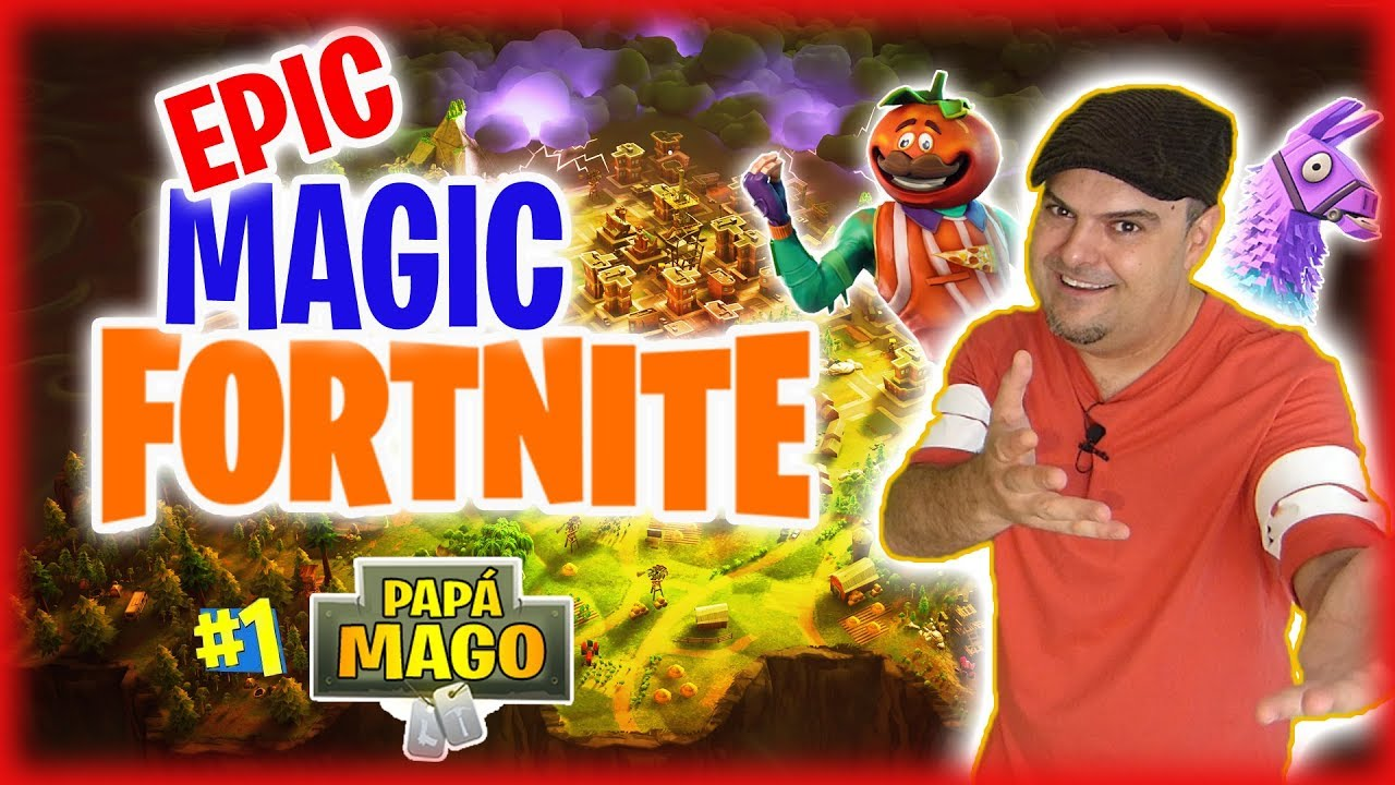FORTNITE EPIC MAGIC TRICK | MAGIA INTERACTIVA | Is Family Friendly