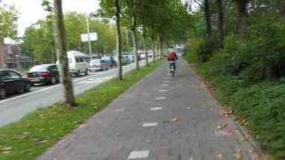 preview picture of video 'Bike Ride 4 into the city of Utrecht (Netherlands)'