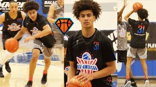 Will Richardson Makes It Look TOO EASY at Pangos All-American!!   Fast Rising GA Prospect