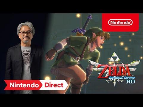 《薩爾達傳說 禦天之劍》高畫質HD強勢回歸Nintendo Switch