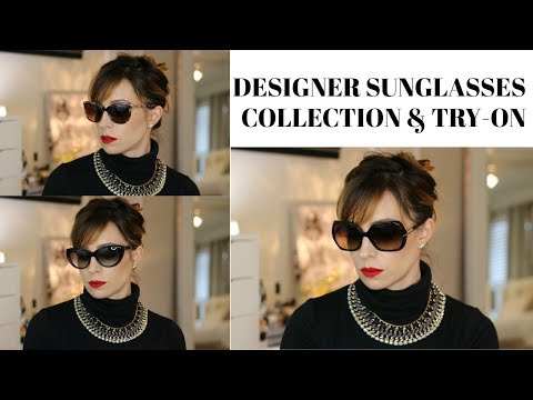 DESIGNER SUNGLASS COLLECTION & TRY-ON