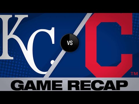 Dozier's go-ahead slam leads Royals to win | Royals-Indians Game Highlights 6/25/19