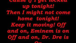 Eminem - If I Get Locked Up Lyrics