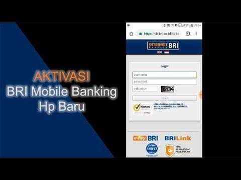 Cara Aktivasi BRI Mobile Banking di Hp Baru