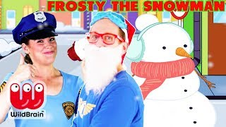 Captain Ace Zoomy Frosty the Snowman Song with Lyrics | Christmas Carols for Children 🎄 Xmas Song 🎄