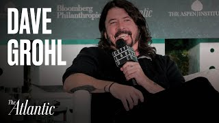 Foo Fighters' Dave Grohl Talks Music + Making Space for Creativity