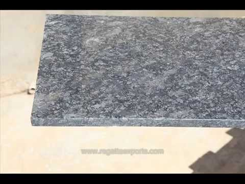 Steel Grey Granite Slabs - Steel Grey Granite Latest Price