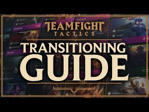 TRANSITIONING + PIVOTING GUIDE | Teamfight Tactics