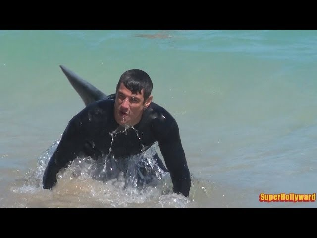 SHARK PRANK!!! Fort Lauderdale Beach