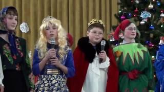 Новогоднее театральное шоу от учащихся 7а класса