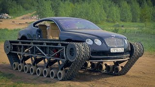 Bentley Ultratank. Real Battlefield.