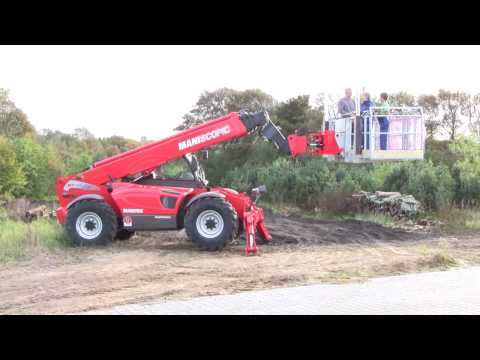 Manitou MT1840 EP Goes Up 18 Meters