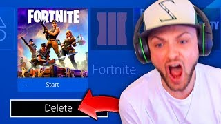 THIS made Ali-A *DELETE* Fortnite: Battle Royale! - Video Youtube