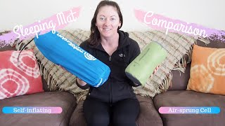 Sleeping Mat Comparison - Sea to Summit Comfort Light Insulated v Outdoor Expedition Harrier 38
