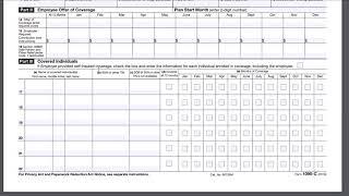 2 Minute Tax Topics - Form 1095-C Health Insurance Coverage